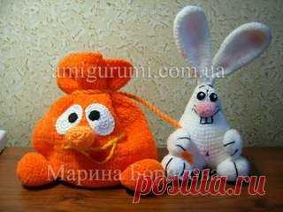 Заяц в мешке — Вязаные игрушки. Амигуруми всех стран, соединяйтесь
