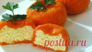 Вкусные рецепты: Острая сырная закуска «Мандаринки»