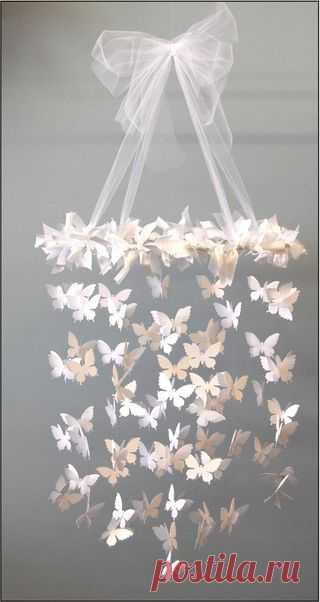 Романтичная люстра в честь приближения весны!