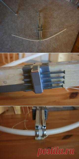 Арбалет для любителей старинных видов оружия. Вот такой арбалет можно сделать самому.