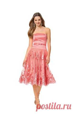 5fde67c9529 Платье-бюстье с пышной юбкой