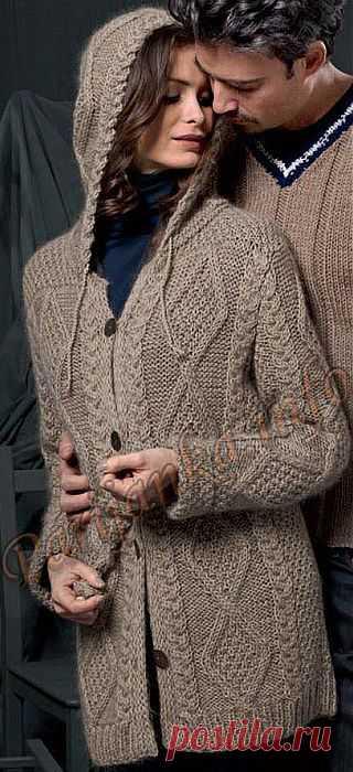 Жакет с капюшоном.