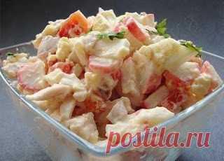 "Самые вкусные рецепты: Салат ""Коралл"""