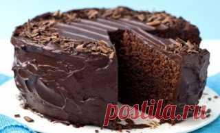 Вкусные рецепты: Супер-влажный шоколадный пирог (без яиц)