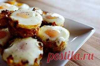 InVkus: Картофельные гнезда с яйцом