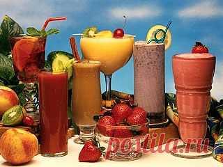 InVkus: Рецепты фруктовых смузи