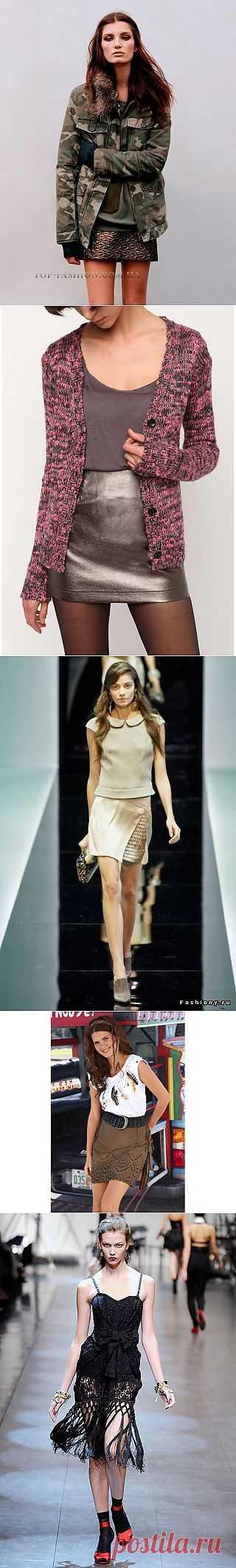 Интересные юбки / Детали / Модный сайт о стильной переделке одежды и интерьера