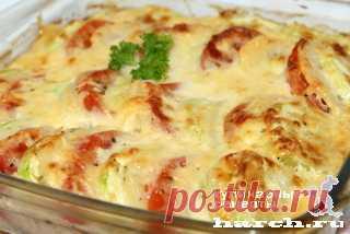 Запеканка из картофеля с кабачками и помидорами по-французски | Харч.ру - рецепты для любителей вкусно поесть