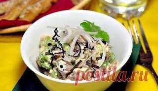 Самые вкусные рецепты: Салат из куриной печени.