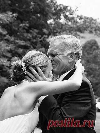 Слезы счастья отца