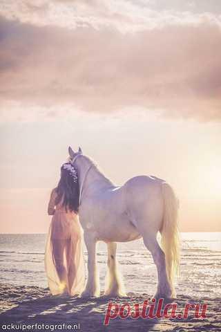 Очаровательные летние фото невест с лошадками)) Pro Wedding | VK