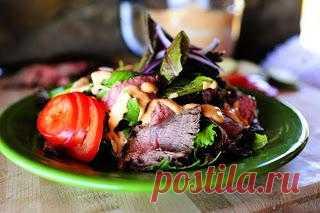 InVkus: Салат из мяса на гриле (дачный вариант)