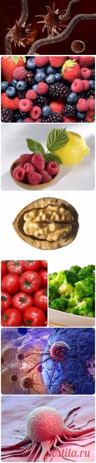 25 продуктов, способных предотвратить рак