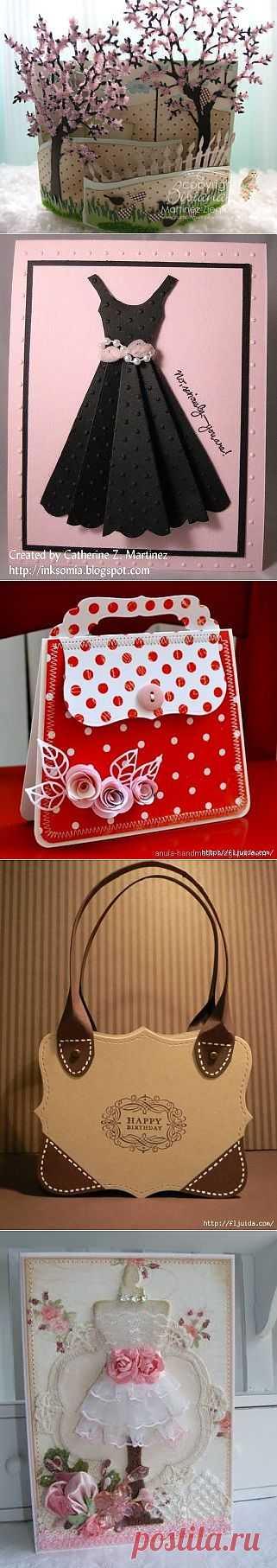 Идеи оформления открыток, мастер-класс / Бумага и карандаши (скрапбукинг, оригами, и т.д.) / ВТОРАЯ УЛИЦА