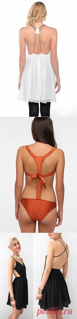 Интересные спинки одежды (подборка) / Декор спины / Модный сайт о стильной переделке одежды и интерьера
