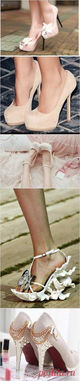 Женские туфельки - неистощимый источники для радости!:)
