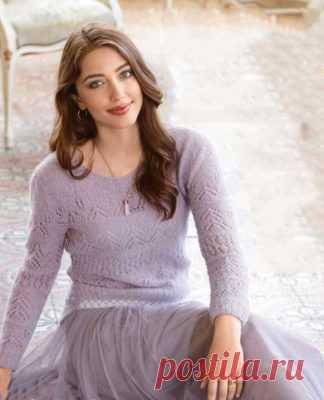 вязаные спицами женские свитера пуловеры и джемперы 2017 вязание