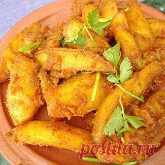Алу Тареко - жареный картофель по-непальски, второе блюдо. Пошаговый рецепт с фото на Gastronom.ru
