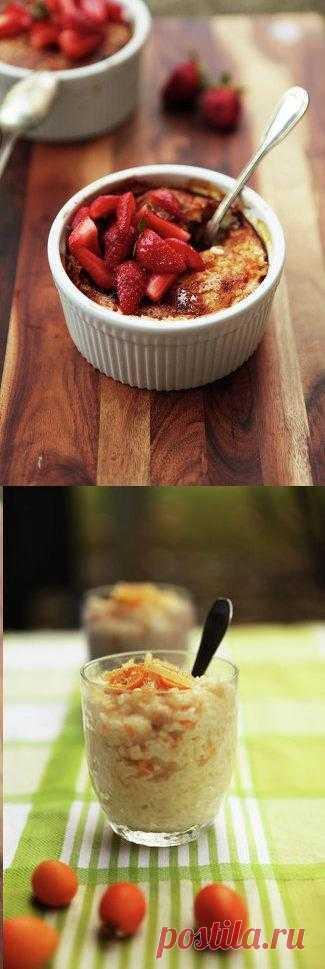 Вкусное начало дня: рецепты каш с пряностями