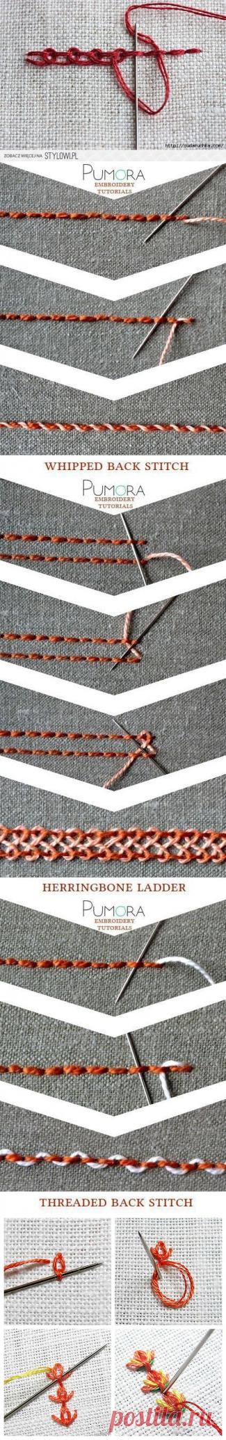 Декоративныe швы — Сделай сам, идеи для творчества - DIY Ideas