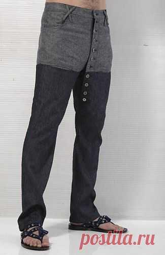 Брюки для черезчур самоуверенных парней / Детали / Модный сайт о стильной переделке одежды и интерьера