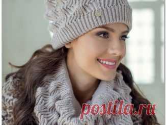 вязание шапок спицами вязание спицами шапки женские схемы шапки