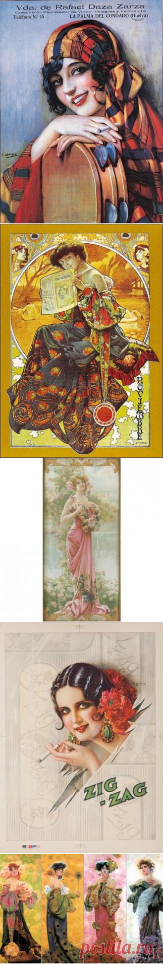 Художник - иллюстратор Gaspar Camps (1874-1931) (41 работ) » Картины, художники, фотографы на Nevsepic