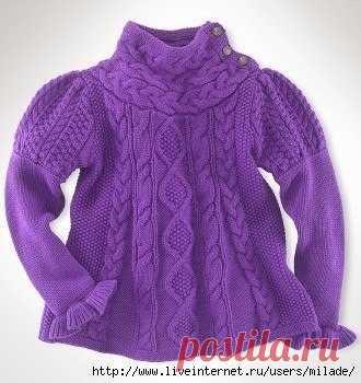 Детская кофточка. #вязание #рукоделие #дети #вязание_детям