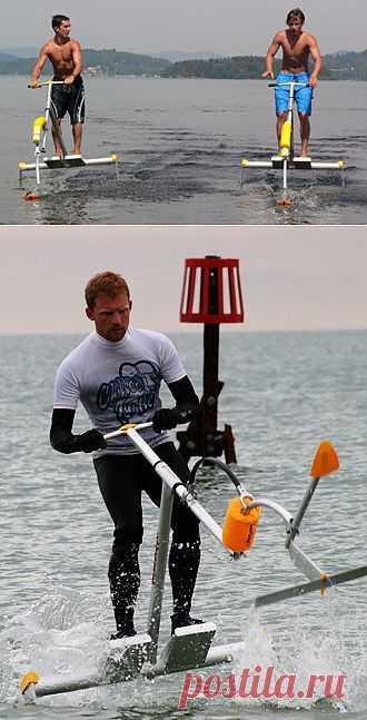 Водолет (водный велосипед, акваскипер, аквапланер) - прекрасный активный отдых на воде, замена водному мотоциклу, скутеру, катамарану