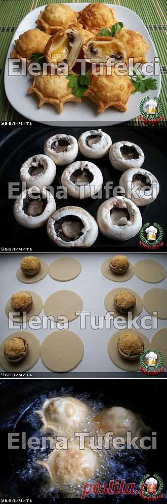 Пирожки «Грибные бомбочки» (МК от Елены)