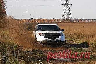 Спортивный внедорожник Ford Explorer Sport (тест-драйв) - свежие новости Украины и мира