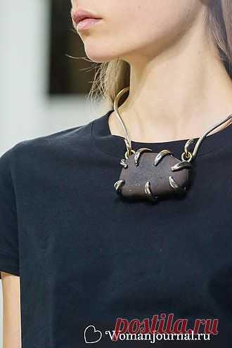 Камень на шею / Украшения и бижутерия / Модный сайт о стильной переделке одежды и интерьера