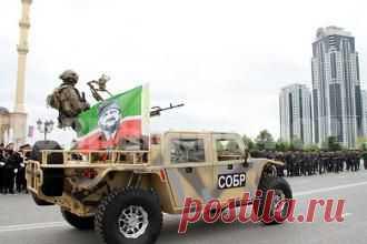 В Грозном показали новые штурмовые автомобили ZIBAR MK2