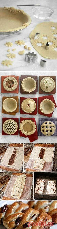 Способы украшения пирога