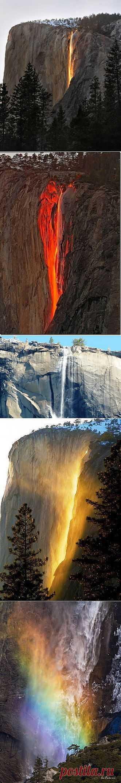 Огненный водопад Лошадиный хвост | ТУРИЗМ И ОТДЫХ