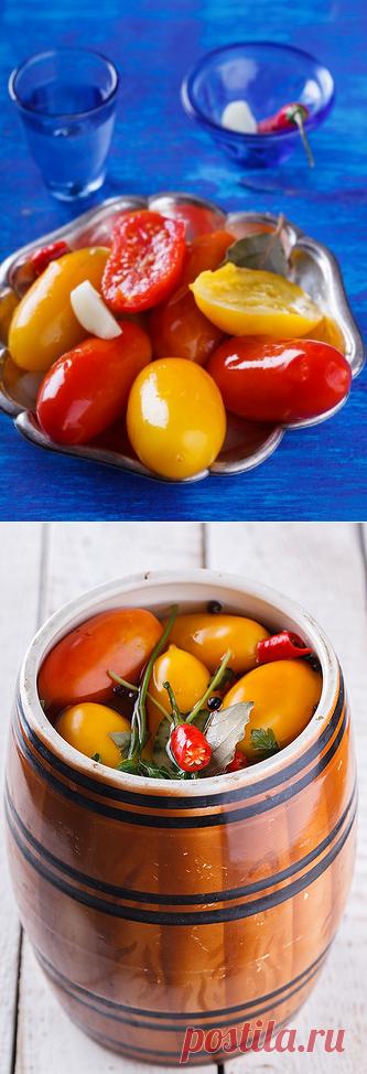 Быстрые мариновые помидоры - в поисках ВКУСОВЫХ ощущений......