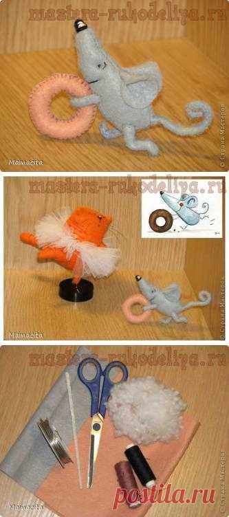 Счастливый мышонок Шмыг может стать прекрасным дополнением к мечтательной кошке. Очень позитивная игрушка.