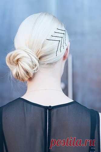 И обычные невидимки могут стать украшением! / Украшения для волос / Модный сайт о стильной переделке одежды и интерьера