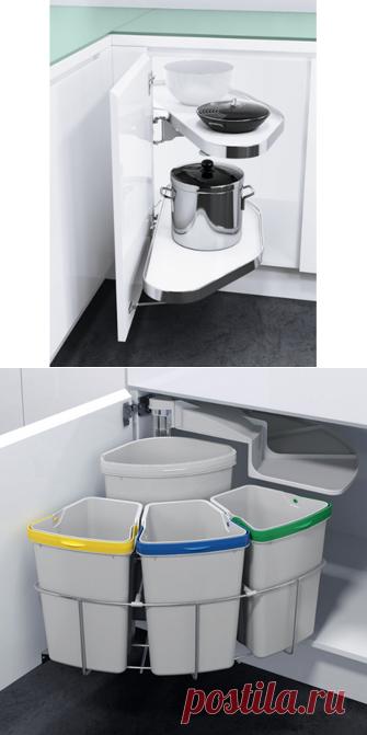 Мусорные ведра, выдвижные кухонные системы купить в Москве недорого с доставкой