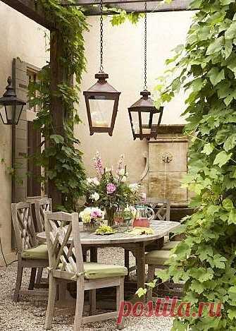 Волшебство в саду