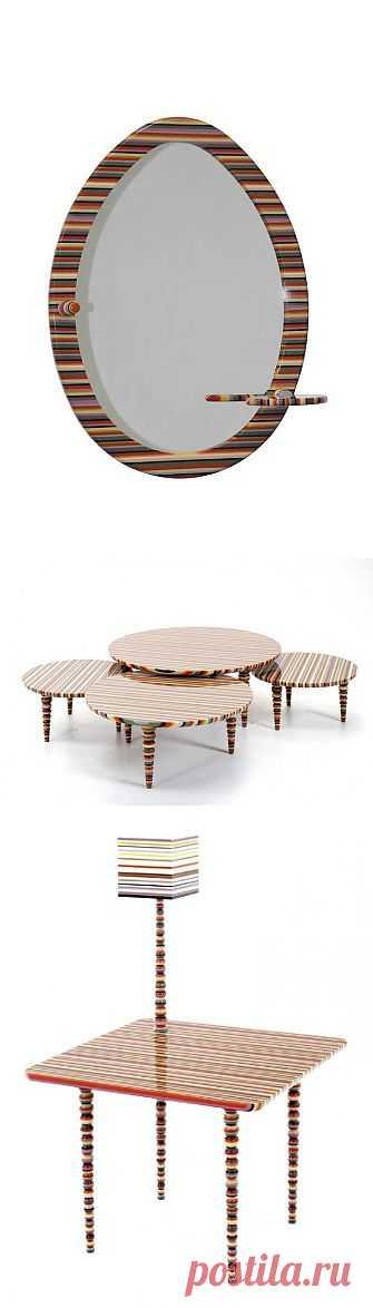 Яркая цветастая мебель от allê - Booratino.by