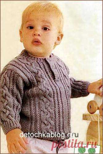 вязать пуловер для мальчика вязаные пуловер джемпер свитер для