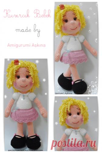 safis doll by Amigurumi Askina, free crochet pattern | Crochet ... | 501x336