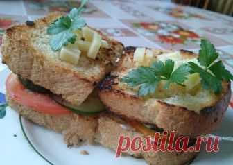 Вкуснющие бутерброды Автор рецепта kreativ pozitiv - Cookpad