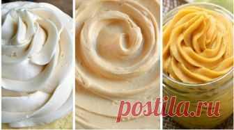 Здесь собраны самые лучшие варианты кремов для любой выпечки. Отличная подборка, забирайте!...