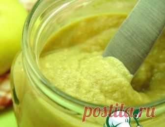 горчица яблочная рецепт