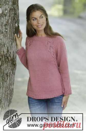 свитер сиена простая модель женского свитера с рукавом реглан
