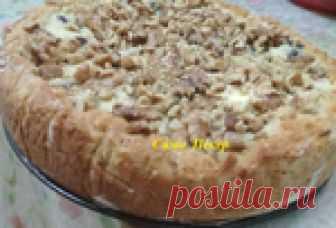 Испекла вкусный пирог