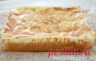 Запеканка на сметане с яблоками - рецепт с фото пошагово Запеканка на сметане с яблоками - пошаговый кулинарный рецепт приготовления с фото, шаг за шагом.