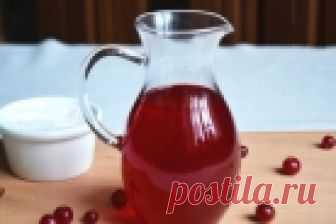 Настойка на клюкве - пошаговый рецепт с фото на Повар.ру